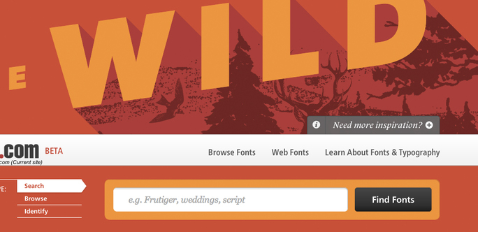 Innovating web font marketing and playing with the cool kids
