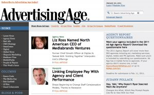 Fast-forward: Getting Advertising Age up to speed