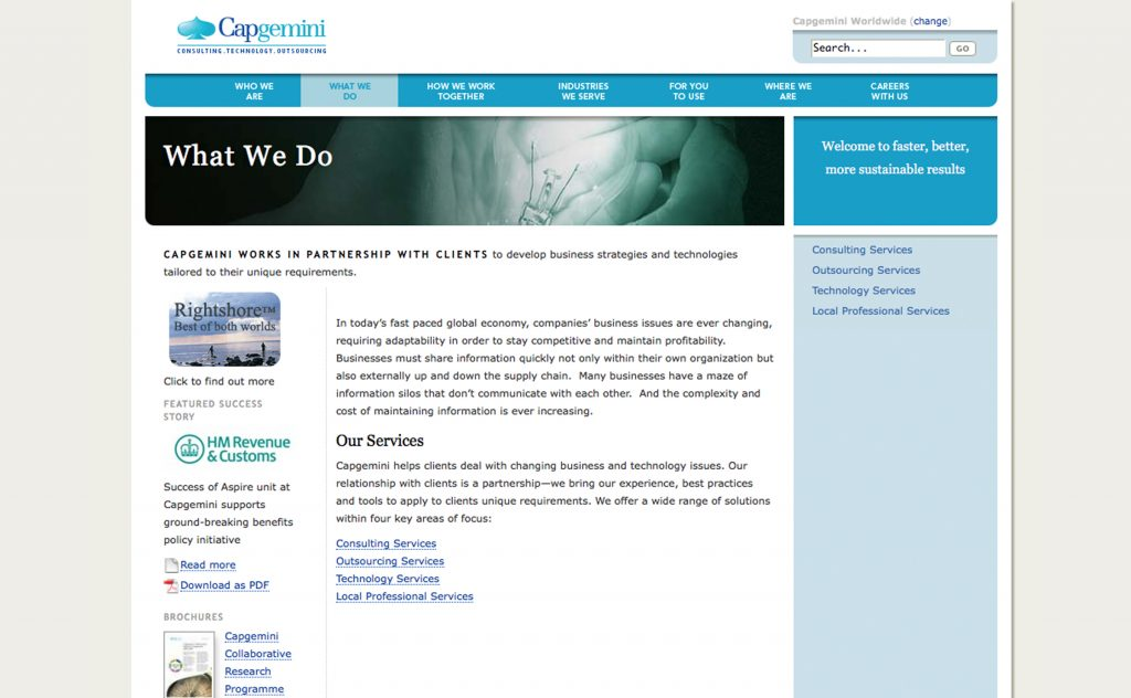 Capgemini Worldwide